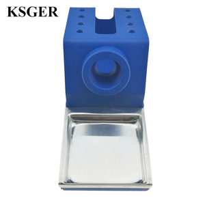 Image 5 - KSGER  DIY T12 Holder Soldering Iron OLED Station Stand FX9501 Handle Welding Iron Tips STC STM32 Aluminum Alloy Tools