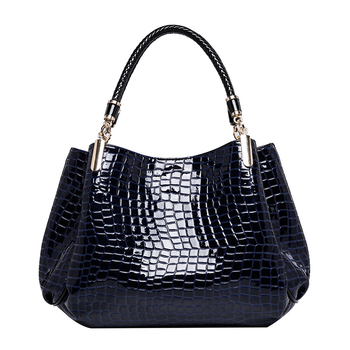 Designer Brand Bags Women PU Leather Luxury Ladies Hand Bags - Crocodile Leather Shoulder Bags 1