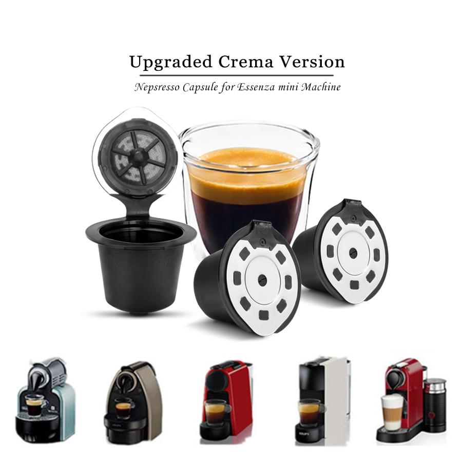 Capsule rechargeable Nespresso | Version améliorée 3-4 pièces, Capsule rechargeable pour machine à café Nespresso Capsule rechargeable, Capsule réutilisable Nespresso