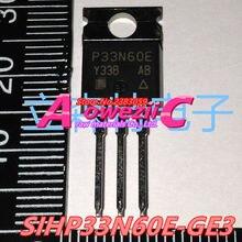 Aoweziic 2015 + 100% nowe importowane oryginalne SIHP33N60E GE3 SIHG33N60E P33N60E TO 220 tranzystor polowy 33A 600 V trioda