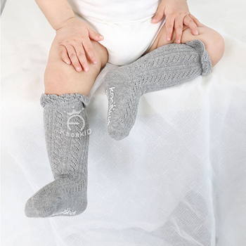 0-3 Years New Breathable Summer Baby Socks Cotton Knee High for Newborns Boys Girls Kids Infant Childrens Socks Bebe Clothes