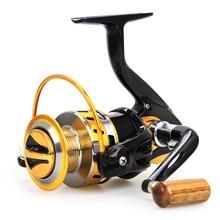 2017 Hot Fishing Reel Spinning Reel 12BB 5.5:1 Spining reel Full Metal head Brass Carp SaltWater Wheel Trolling Coils Line daiwa