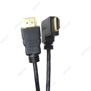 Image 3 - Đàn hồi Cuộn Mùa Xuân HDMI Cable Nam đến Nam V1.4 1080 P 3D Tinh Khiết Đồng HDMI Left & Right Góc Cạnh Cabo 0.6 m 2.0 m