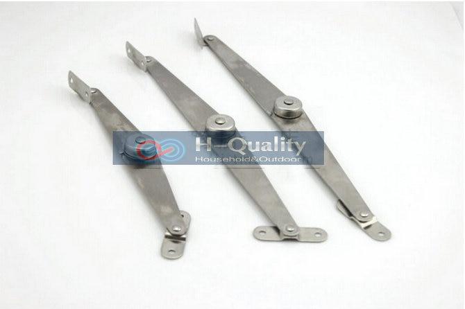2PCS Household Furniture Accessories 26CM Stainless Folding Bracket Fold Away Shelf Fold Away Bracket Brace Movable Support