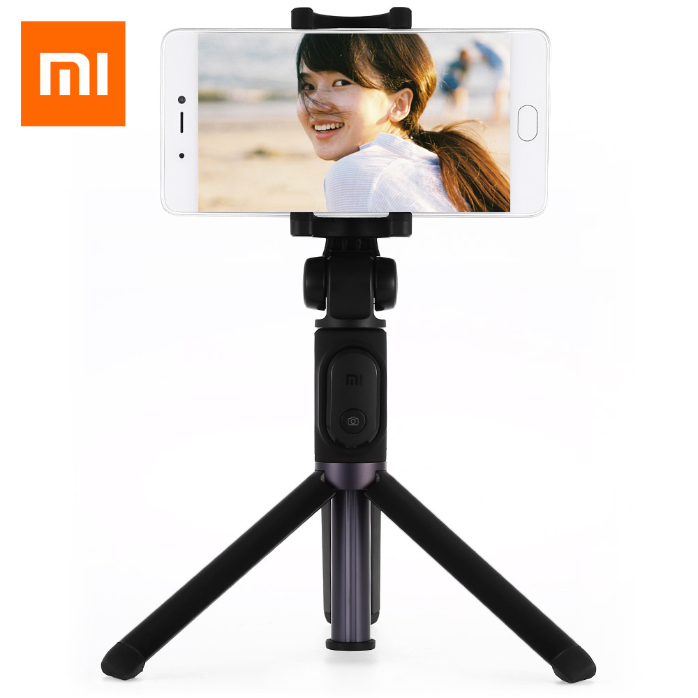 Xiaomi Mi Foldable Selfie Stick Tripod Selfie Bluetooth With Wireless Shutter Remote Control Selfie Stick For IOS/Android/Xiaomi