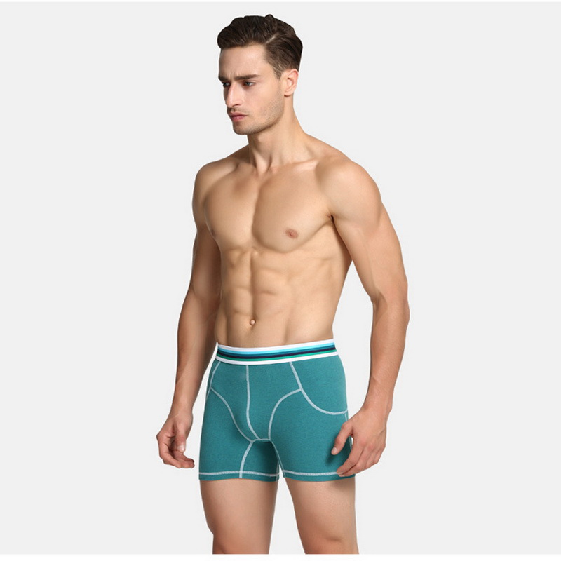 2018In the winter The new design Men 's Boxers To keep warm Lengthen Straight Male With Thick Cotton Pants Underpants