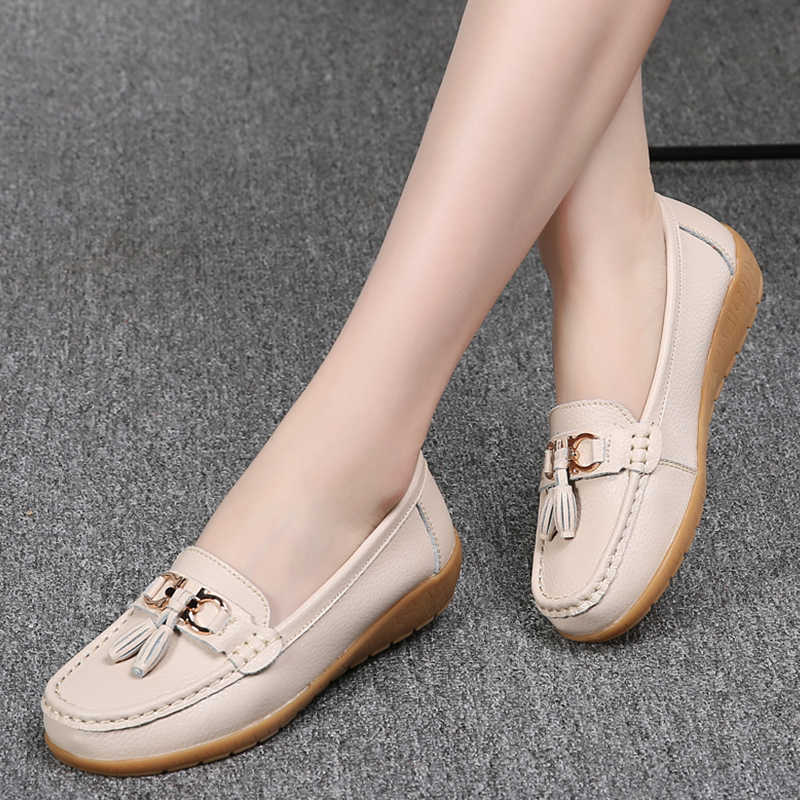 2019 ballet flats women spring summer ballerines flats shoes women flats shoes women fringe shoes woman cut out loafers slip on