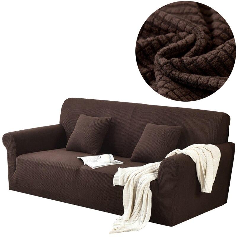 Svetanya Amazon Chaude Housses Solide Couleur Housse De Canapé tout compris Canapé Cas pour différents Canapé En Forme De S M L XL taille