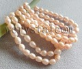 Wholesale Natural Freshwater Pink Cultured Pearls Bracelets