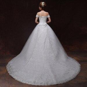 Image 2 - Vestido De novia De encaje con Espalda descubierta, encaje