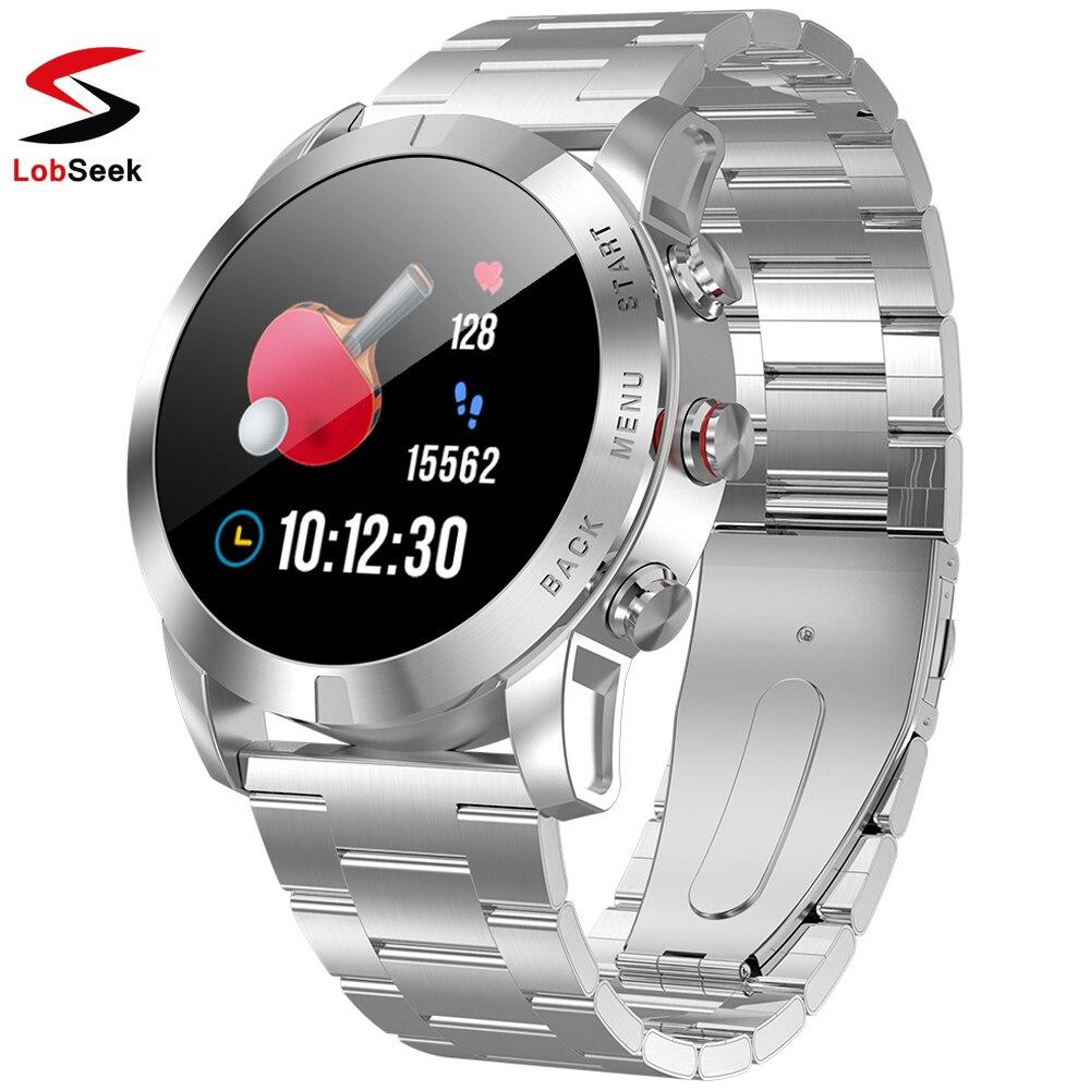 Nouveau S10 Sport affaires hommes montre intelligente 1.3 ''HD affichage étanche moniteur de fréquence cardiaque compte pas Ios Smartwatch avec caméra