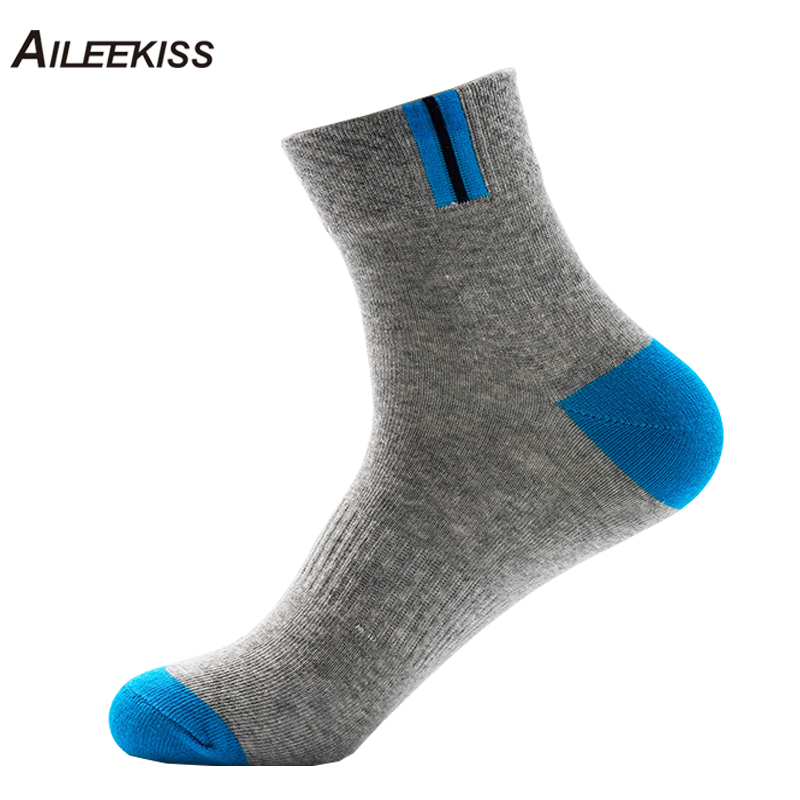 10Pcs=5 Pairs/Lot Men Socks Breathable Cotton Dress Mens Casual Socks Sp orts Wear For Male Happy and Hip Hop XT695