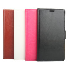 Colorful Flip Cover Leather Phone Case With Stand Card Slot For Cubot Note S 5.5 Inch MT6580 Quad Core Android 5.1 Mobile Phone
