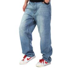Осенне весенние однотонные Свободные мешковатые джинсы в стиле