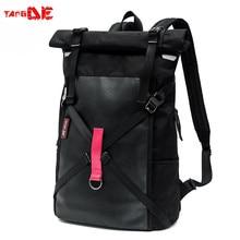 Retro Solid color 900D Cordura Roll top Vintage Urban backpack laptop rucksack 47 27 14cm batohy