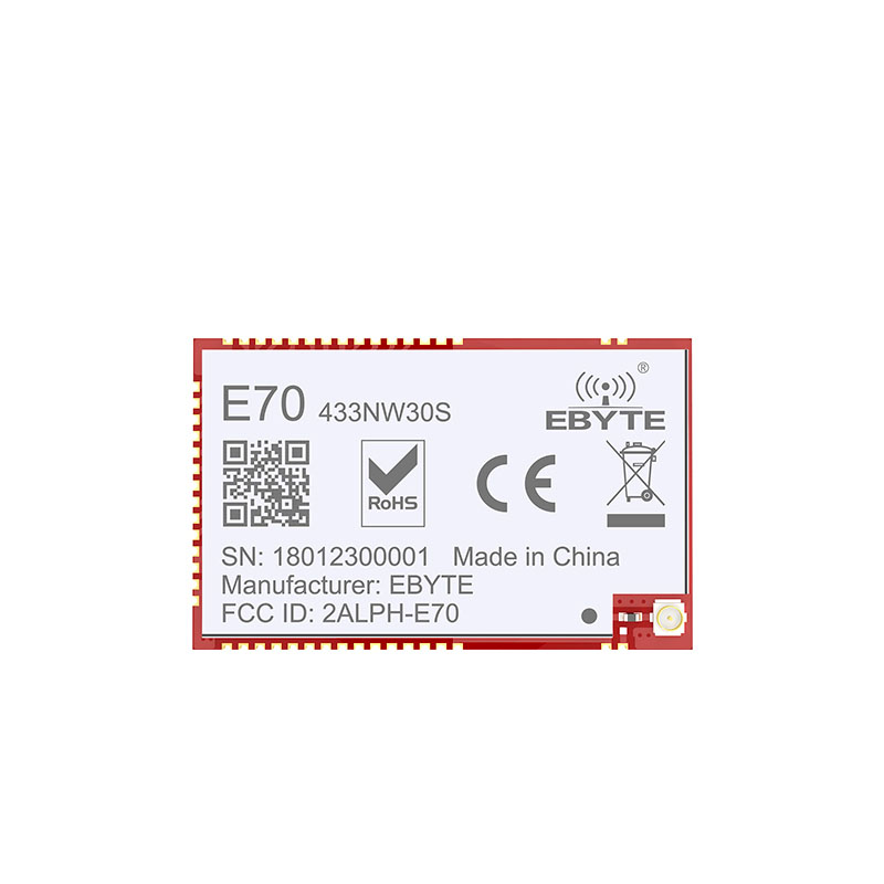 Image 2 - E70 433NW30S CC1310 1W 433mhz SMD Wireless Transceiver IoT 433 mhz IPEX Antenna Transmitter and Receiver-in Fixed Wireless Terminals from Cellphones & Telecommunications