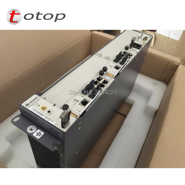 US $2250 0 |huawei MA5608T 16 ports Opitcal Line Terminal OLT Chassis +  2*MCUD1 + 1*MPWD-in Fiber Optic Equipments from Cellphones &