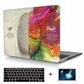 Левый и Правый Мозг Печати Чехол Для Macbook Pro 13 A1706 Случае Pro 15 A1707 TouchBar Hard Cover Для Mac book Pro 13 A1708 случае