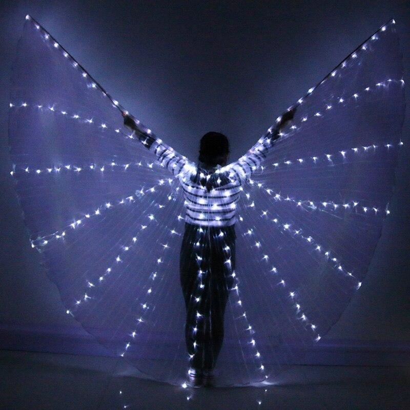 Danza del vientre LED ISIS colorido popular etapa rendimiento apoyos ...