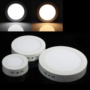 Round LED Surface Mounted Ceiling Light 9W 15W 25W AC85-265V For Home BedRoom kitchen Room panel lighting