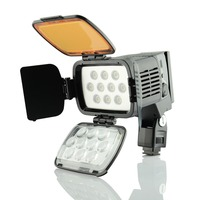 DSTE VL001A 10 LED Video Light for SONY DSLR Camera Camcorder DV Dimmable LAMP 5500K/3200K