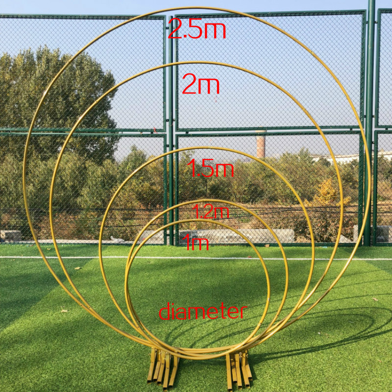 Wrought Iron Frame Pillar Wedding Arch DIY Round Party and Frame Window Party Festival Background FrameWrought Iron Frame Pillar Wedding Arch DIY Round Party and Frame Window Party Festival Background Frame