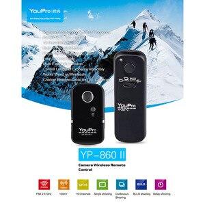 Image 2 - YouPro YP 860 S2 2,4G Drahtlose Fernbedienung Auslöser Sender Empfänger für Sony A58 A7R A7 A7II A6000 DSLR kameras