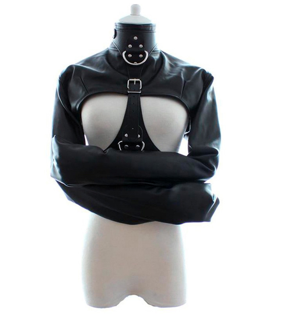 Popular Leather Straight Jacket-Buy Cheap Leather Straight Jacket