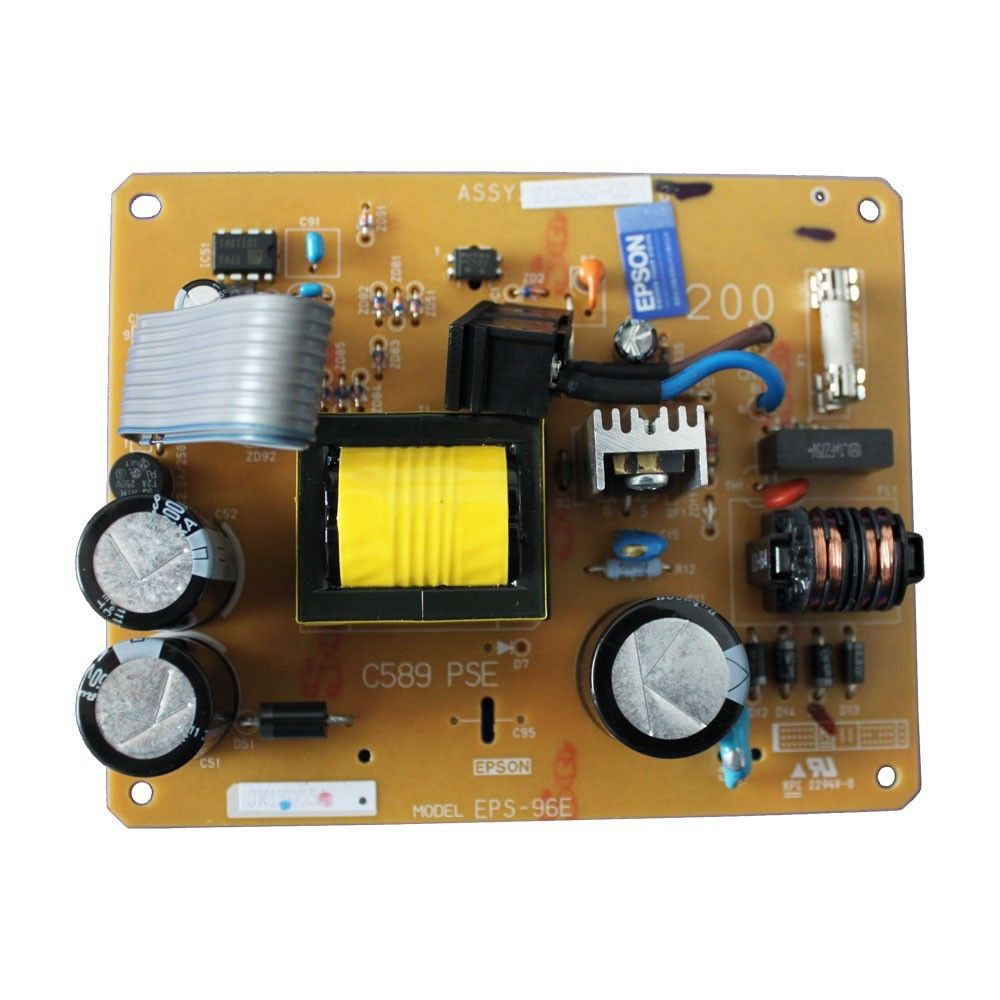 ФОТО FOR Epson R1390 R1800 R2400 Power Board Part number: 2125567 Remarks USED
