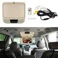 9 Дюймов HDMI Монитор Автомобиля сальто вниз DVD Плеер ЖК-Дисплей Крыши крепление Потолка с Двумя Видео Вход USB SD Опустите монитор HDMI