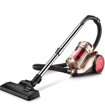 Handheld Mute Vacuum Cleaner with Bed Mites-Killing Brush Home Strong Mite Terminator Floor Carpet Horizontal Cleaner 1200W