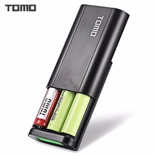 TOMO T3 portable power bank 18650 Li-ion smart Battery Charger DIY Mobile Intelligent PowerBank Dual Input Output with lcd
