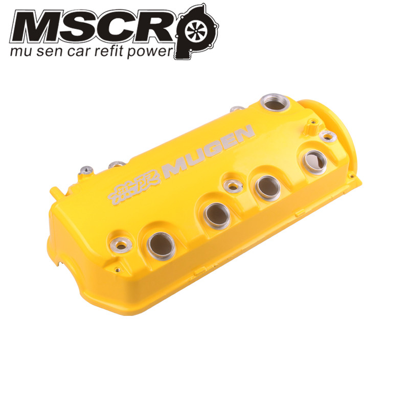 Image 3 - MUGEN Type R Rocker Valve chamber cover For Honda Civic D16Y8 D16Y7 VTEC SOHC-in Cylinder Body & Parts from Automobiles & Motorcycles