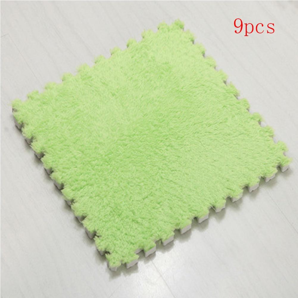 30x30cm 9pcs/lot Stitching Carpet Mattress EVA Foam Bedroom Living Room Crawling Pad Tatami PGuzzle Floor Mat