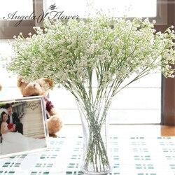 1PCS 58cm interspersion mantianxing Rústico flor artificial da flor do casamento de mesa de decoração para casa de plástico Gypsophila babysbreath