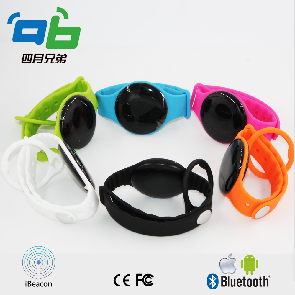Bluetooth 4.0 Dialog 14580 chipset high quality wristband iBeacon  - Security and Protection - Photo 4