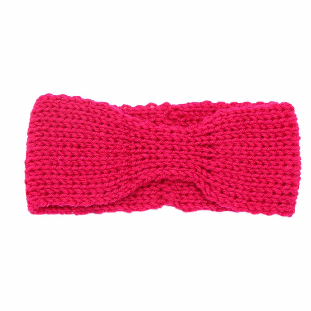 Повязка на голову для детей, вязаная повязка для волос для детей, реквизиты для фотографии, аксессуары для волос для младенцев kыz bebek aksesuar