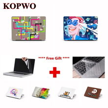 KOPWO Idea Series Laptop Protective Hard Case for New Apple Macbook Air Pro 11 13.3 15.4 Inch Retina Computer Notebook Cover