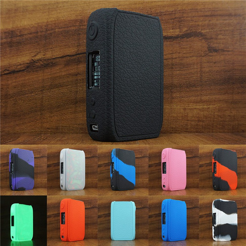 Texture Case Protective Silicone Rubber Sleeve Cover Shield Wrap For IJOY Shogun Univ 180W TC