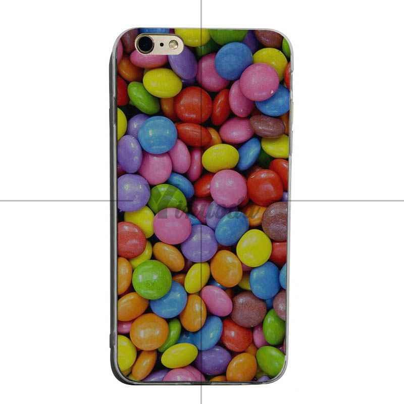 Yinuoda Bonbons Arc-En-Ciel Motif 2018 Couleur Dessin doux tpu téléphone étui pour iphone 6 s 6plus 7 7plus 8 8plus X XS XR Couverture Mobile