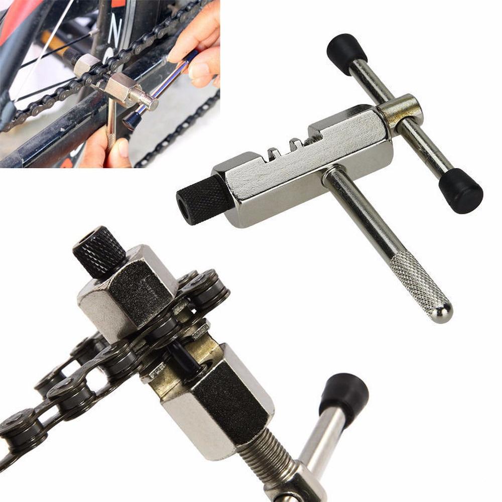 цена на Bicycle chain cutter mountain bike dechainer demolition chain tool bicycle chain breaker spoke repair combination tools