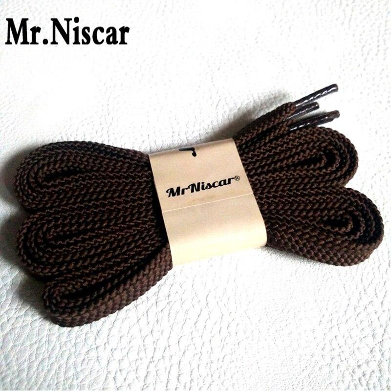 Mr.Niscar 1 Pair 100cm 120cm 140cm 160cm 180cm Polyester Shoelaces Flat Shoelace Sport Shoes Sneaker Coffee Shoe Laces Strings 8mm wide of flat shoelaces shoe laces for sneakers sport shoes 24 colors 80cm 100cm 120cm 140cm 160cm