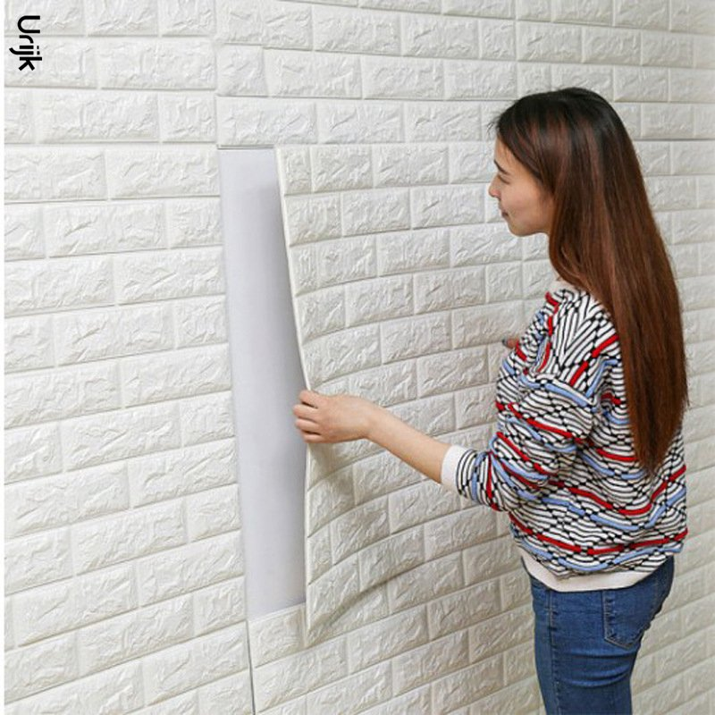 1pc Pe Foam 3d Wall Stickers For Home Decor Accessories Wall New
