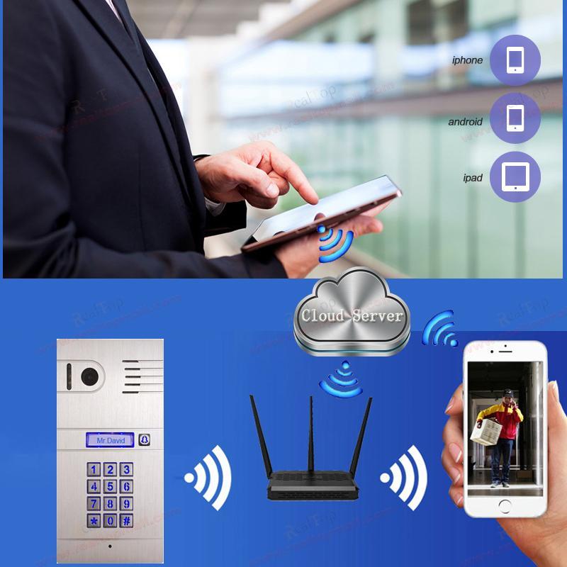 IP Video Door Phone 3G/4G Wireless WiFi IP Intercom System,remotely Unlock  Door By Smartphone/tablets,wireless Intercom System In Video Intercom From  ...