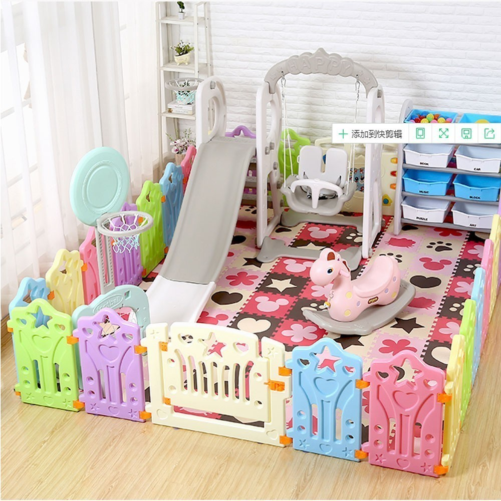 Baby Playpen How Baby Playpen Indoor Fencing Toys For Children Activity Gear Baby Room Protection Barrier Safety Fence Educational Play Yard