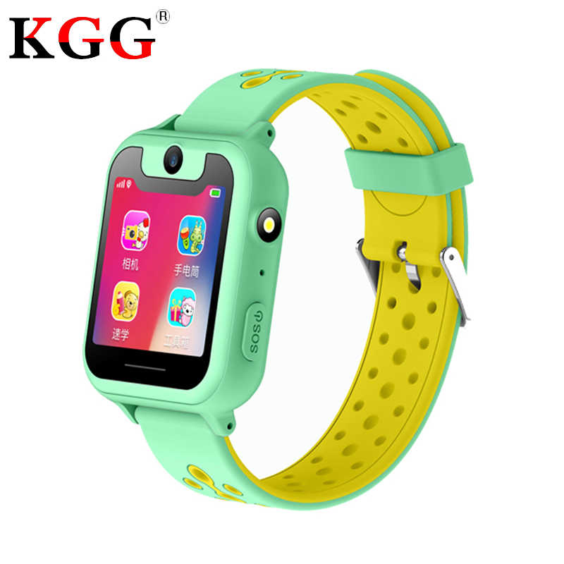 "KG30 Kids GPS Smart Watches HD 1.54"" Touch Screen Camera SOS Call Back SIM Location Device Children Baby Smart Watches"
