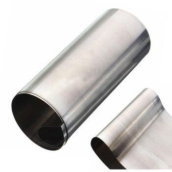 1pc de plata de acero inoxidable 304 de Mayitr bien hoja de placa de 0,1mm * 100mm * 1000mm para precisión hardware para maquinaria partes