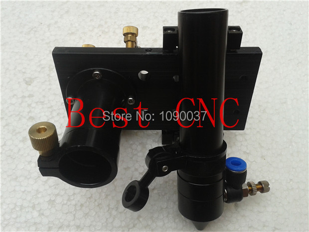 Co2 Laser Head installing Dia 20mm Lens and Dia 25mm Mirror new type co2 laser head