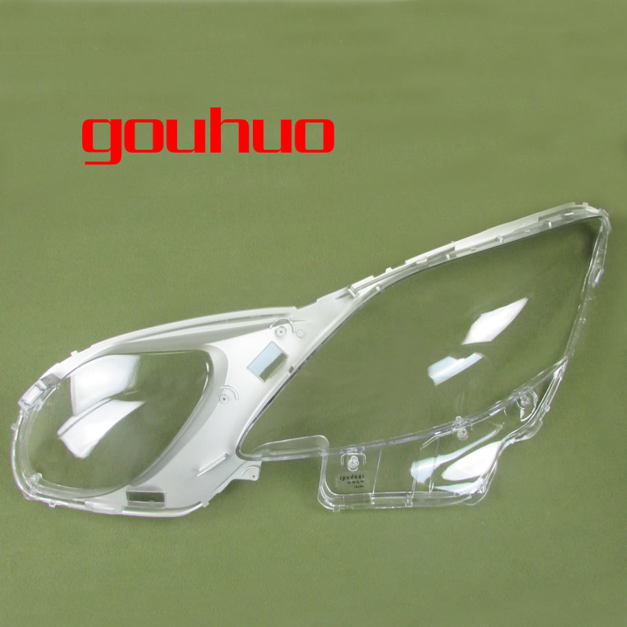 1pcs for Lexus GS300 GS430 GS450h GS460 2006 2011 Transparent Lampshade Lamp Shade Front Headlight Shell