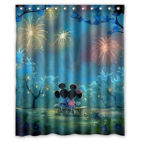 Bathroom Collection Custom Cartoon Mickey Mouse Art